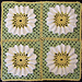 Baby Blanket featuring Springtime Daisy Flower pattern
