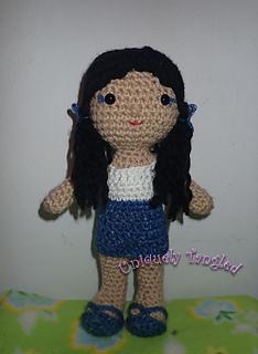 Ravelry: Icelyn Amigurumi Doll pattern by jossa handmade | 320x234