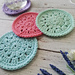 Spring Blooms Coaster pattern