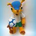 Fuleco - Brazil 2014 World Cup's Pet pattern