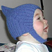 Pointy Ribbed Pixie Helmet Hat pattern