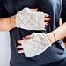 Dot Lace Mitts pattern
