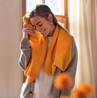 Enjoy the simple pleasure of a soft and cozy knit in this luxury yarn.
