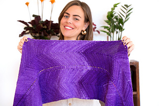 Monokrom Worsted takes a simple pattern to a new level of beauty