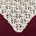 Lace with flowers pattern