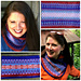 Blue Flame Cowls pattern