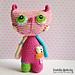 Crochet cat Lisa pattern