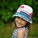Lighthouse ruffles hat pattern