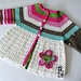 Flower Cardigan pattern