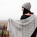 Valley of the Moon Shawl pattern