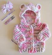 Saco de Oso - Patrón Crochet