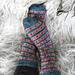 A Swedish Christmas - Allmoge Socks pattern
