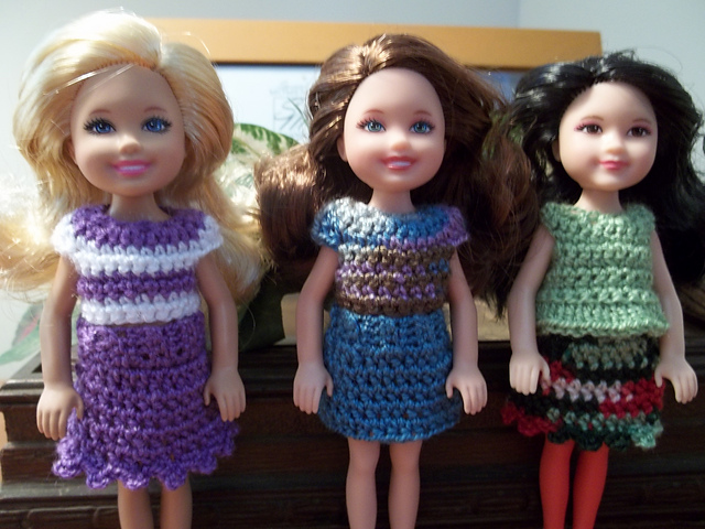 Ravelry Outfits For Chelsea Pattern By Vicki Johnson