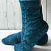 Siren song socks pattern