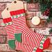 Jolly Holly Socks pattern