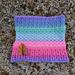 Rockies Rainbow Cowl pattern