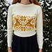 Fabulously festive sweater pattern
