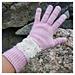 Halo Blush gloves pattern