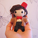 Chibi Eleventh Doctor pattern