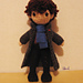 Crocheted Consulting Detective pattern