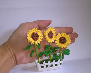 Made To Order Amigurumi Sunflower or Amigurumi Daisy Crocheted ... | 257x320