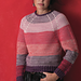 #14 Striped Raglan Pullover pattern