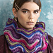 #20 Feather-and-Fan Cowl pattern