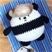 Ballgurumi-Panda pattern