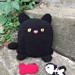 Ballgurumi-Black Cat (and Fish) pattern