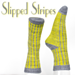 Slipped Stripes Socks pattern