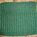 "May 2013 Knit-a-Long 12"" Afghan Square: Waffle Stitch pattern"