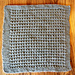 """August 2013 Knit-A-Long 12"""" block: Granite Relief Stitch pattern"""