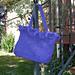 Romantic Ruffles Felted Handbag pattern