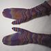 Handschuhe mit Zacken pattern