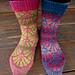 Ginko Socks pattern