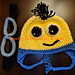 Minion Hat with Detachable Goggle pattern