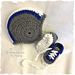 Baby Football Helmet Hat and Sports Cleats Shoes pattern