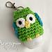 Owl Hand Sanitizer Holder pattern