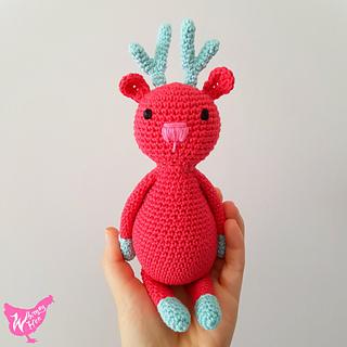 Crochet reindeer amigurumi | Amigurumi free pattern, Amigurumi pattern | 320x320