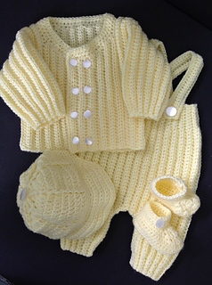 Ravelry Baby Boy Coming Home Outfit Pattern By Margaret Whisnant
