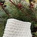 Garter Slip Dishcloth pattern