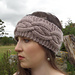 Cocoon Cabled Headband pattern
