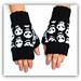 """skull mittens """"skullfest"""" pattern"""