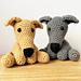 Greyhound & Whippet Amigurumi pattern