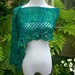 Claddagh Ring Shawlette pattern