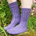 Easy Lace Socks pattern