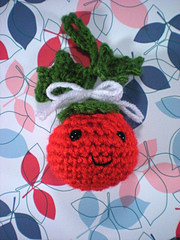 Holly Berry Ornament