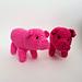 Semi-realistic pig pattern