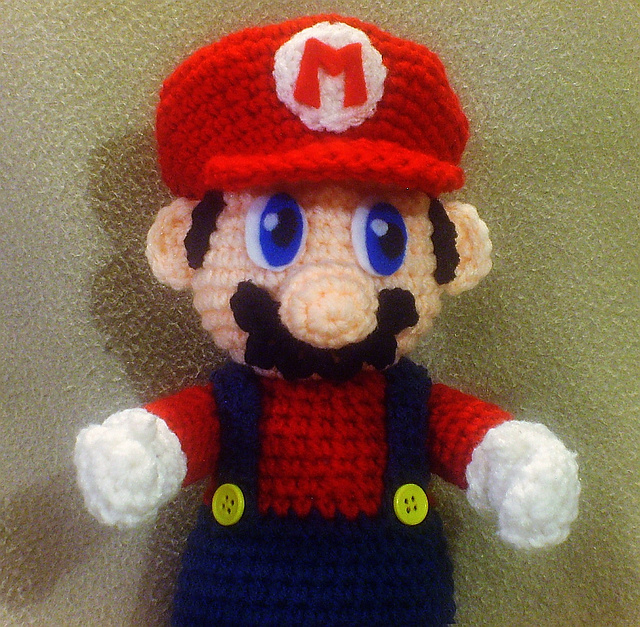 Luigi | Mario crochet, Crochet projects, Crochet crafts | 627x640