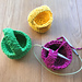 Recycled Tape Mini Baskets pattern